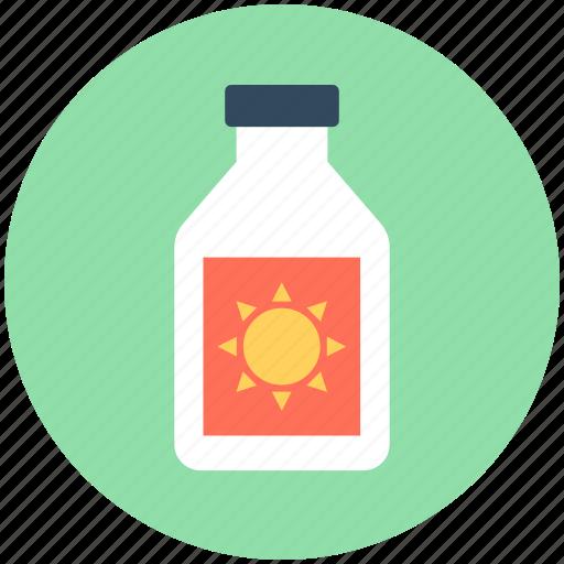 sun cream, sunblock, sunburn cream, sunscreen, suntan lotion icon