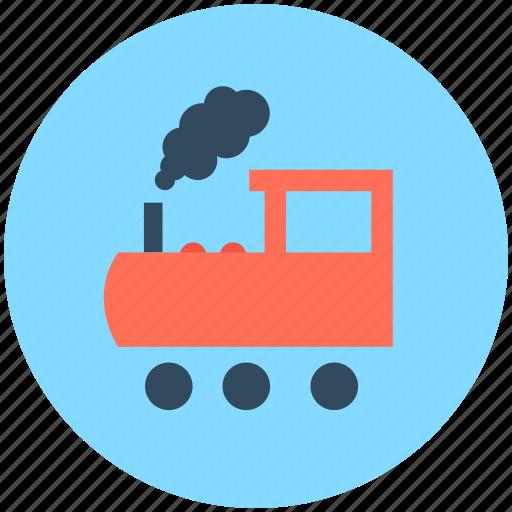 diesel engine, engine, locomotive, train engine, tram engine icon