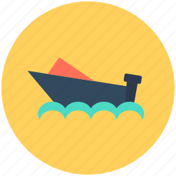 boat, cruise, ship, vessel, water transport icon