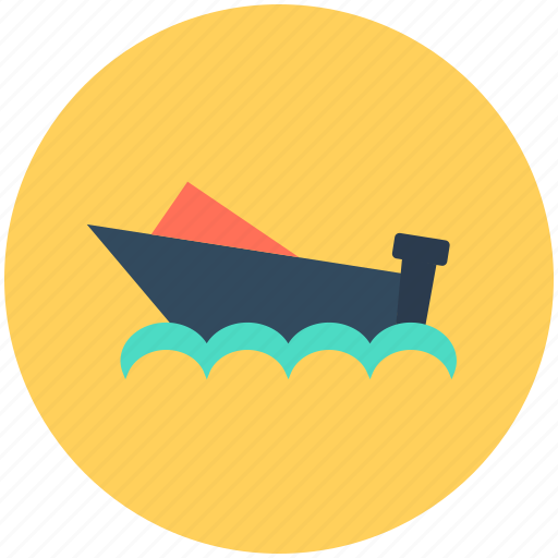 Boat, cruise, ship, vessel, water transport icon - Download on Iconfinder