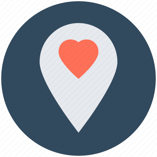 favorite location, location marker, location pin, location pointer, map pin icon