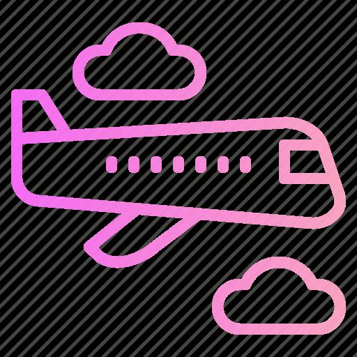 airplane, airport, plane, travel icon