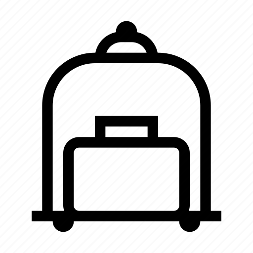 bag, hotel, luggage, service, suitcase icon