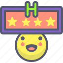 city, hotel, motel, review, trip icon