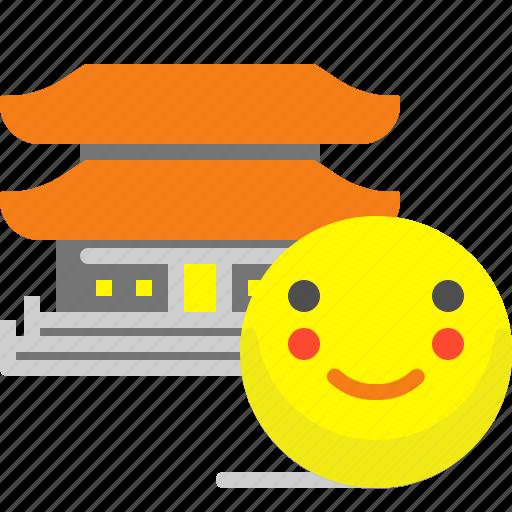 asia, buddha, religion, temple icon