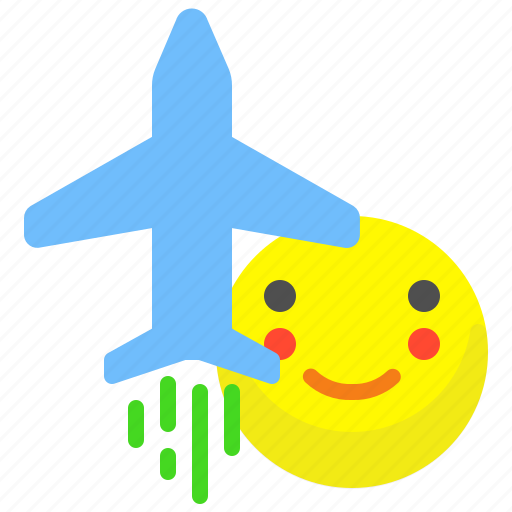 airplane, flight, fly, holidays, trip icon