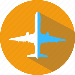 airplane, cruise, direction, tourism, travel, trip, vacation icon