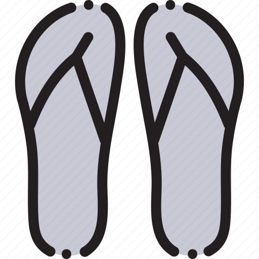 Beach, flipper, flippers, sea, travel icon - Download on Iconfinder