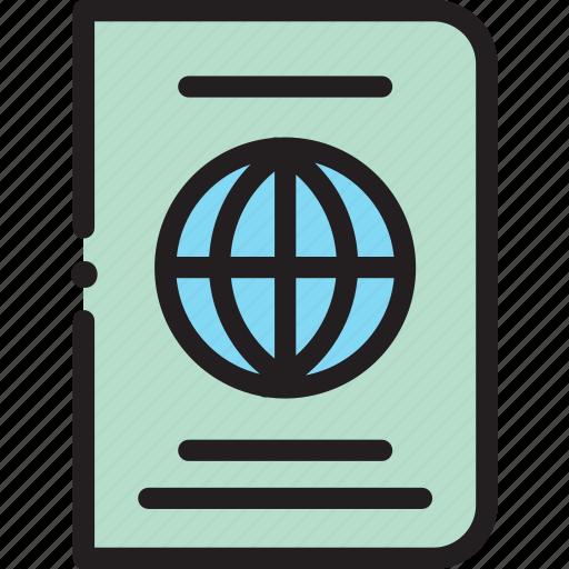 Global, passport, world icon - Download on Iconfinder