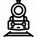 locomotive icon, railway, subway, train, transportation, vehicle