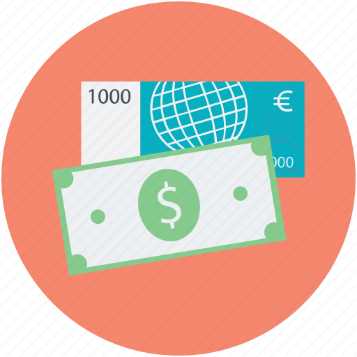 banking, credit card, currency, dollar, online banking icon
