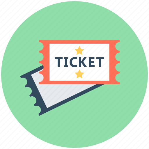 air ticket, airplane, plane ticket, travel ticket, travelling pass icon