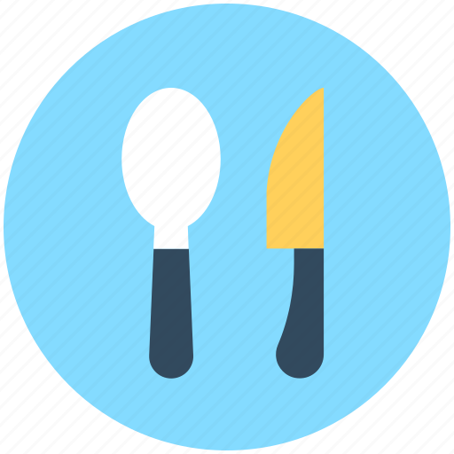 cutlery, knife, restaurant, spoon, utensils icon