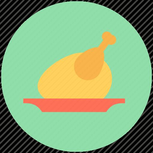 broast chicken, chicken, meat, roast, turkey icon