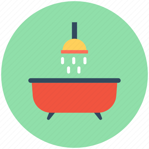 bath, bathing tub, bathtub, shower, tub icon