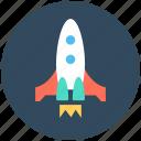 spacecraft, rocket launch, spaceship, rocket, missile