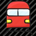 local transport, railway, railway track, train, transport icon