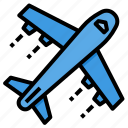 airplane, flight, plane, transportation, travel