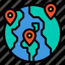 location, map, navigation, travel, world