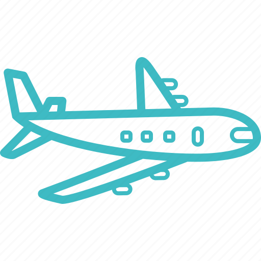 aeroplane, airplane, flight, holiday, plane, travel, vacation icon