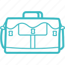 bag, briefcase, business, finance, office, travel, vacation icon