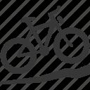 bicycle, bike ride, travel