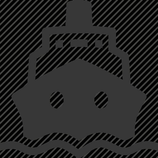 cruise, ship, travel icon