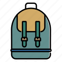 backpack, lugagge, bag, rucksack, travel