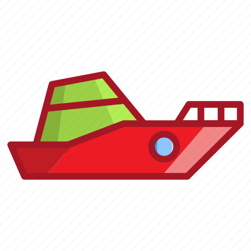 sea, ship, summer, travel icon
