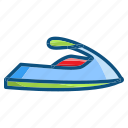 flat jet sky, jet sky, summer, travel icon
