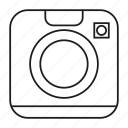 camera, gadget, lens icon