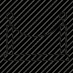barrier, door, gate icon