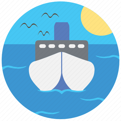 nature, sea, ship, travel, traveling icon