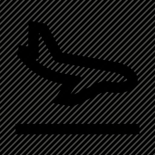 aircraft, arrival, plane, ship, travel icon