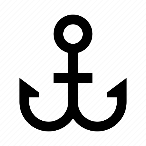 anchor, boat, sea, ship, travel, trip icon