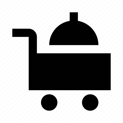 dish, food, hotel, room, service icon
