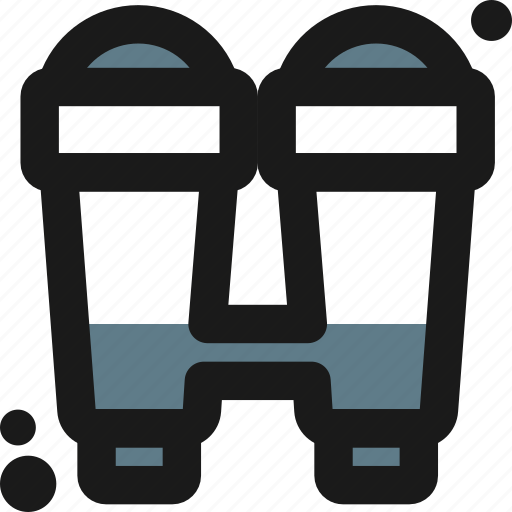 binoculars, field, glasses, outdoor, prism, travel, trip icon