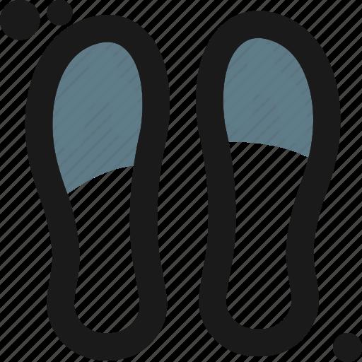 beach, sandalls, shoe, slipper, travel icon