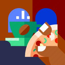 cofe, coffee, cup, drink, food, tea, travel icon