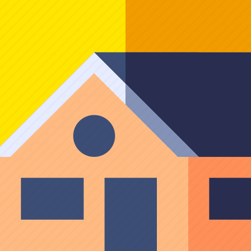 architecture, building, home, house, property, travel, vacation icon