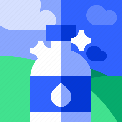 drink, mineral, tourism, travel, vacation, water icon