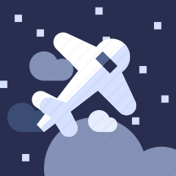 airplane, holiday, plane, transport, travel, vacation, vehicle icon