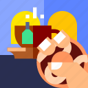 coffee, drink, food, tea, travel, vacation icon