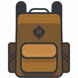 backpack, baggage, holiday, luggage, travel icon