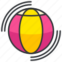 ball, beach, game, holiday, travel icon