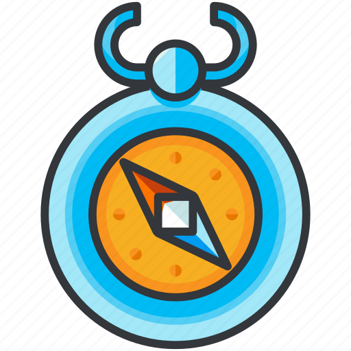 compass, direction, holiday, navigation, travel icon