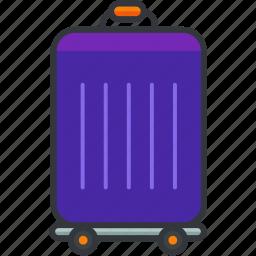 baggage, holiday, luggage, suitcase, travel icon