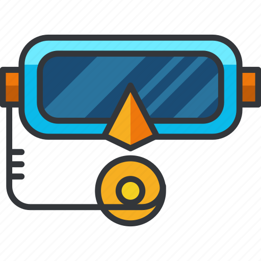 holiday, mask, snorkle, sports, travel, water icon