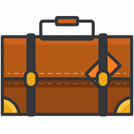 baggage, briefcase, holiday, suitcase, travel icon