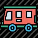 bus, public bus, transport, travel, vehicle